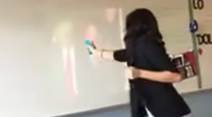 Mock Trump assassination lands Dallas teacher in hot water (VIDEO)