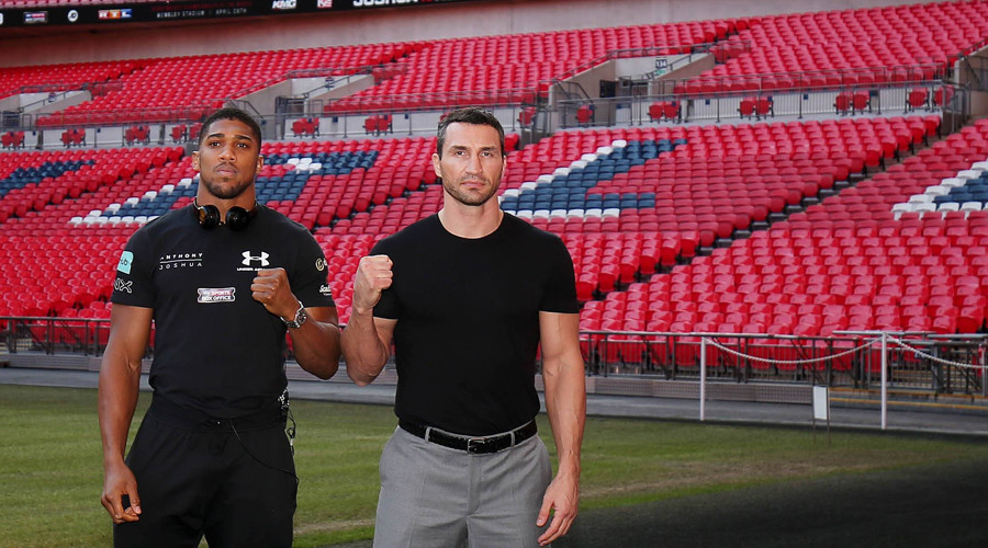 90,000 at Wembley: Joshua v Klitschko fight to match UK boxing crowd record