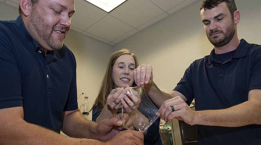 Knight in slimy armor? US Navy scientists excited over new biomaterial