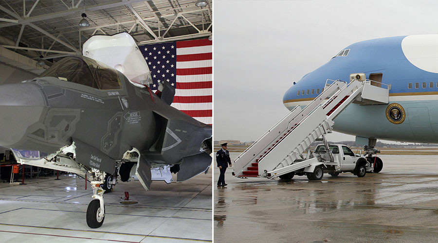 Defense Secretary Mattis orders reviews of F-35 and Air Force One to cut costs