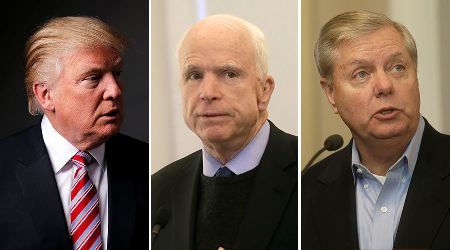 'Focus on ISIS, not starting WWIII': Trump blasts Senators McCain & Graham