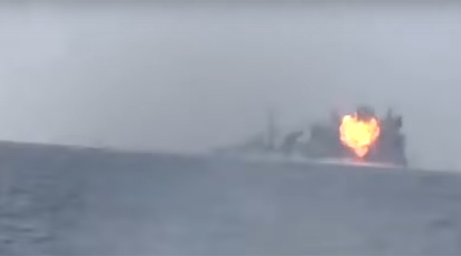 Saudis admit 2 deaths in warship incident after Houthis claim anti-ship missile attack (VIDEO)