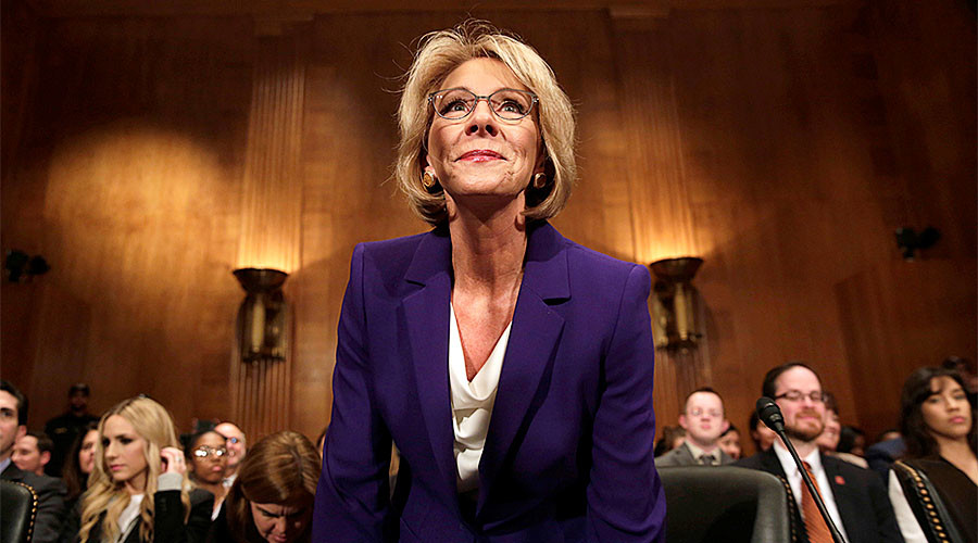 Senate Committee approves DeVos as education secretary