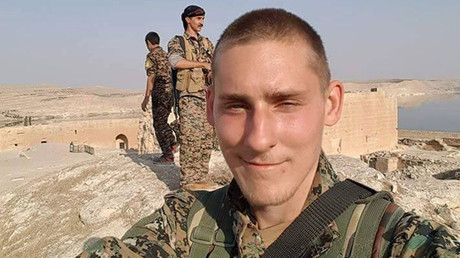 Ryan Lock, from Chichester, who has been killed in northern Syria. © Family handout