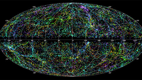 Mysterious cosmic radio bursts traced to distant dwarf galaxy