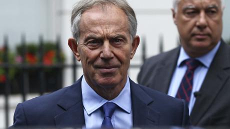 Former British Prime Minister Tony Blair © Neil Hall