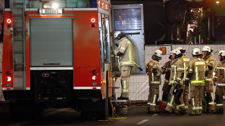 Refugee facility on fire in Germany, dozens treated for smoke inhalation – media