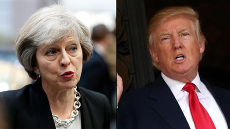 Theresa May to visit Donald Trump in the spring to build bridges