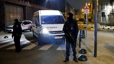 Belgian police officers © Francois Lenoir