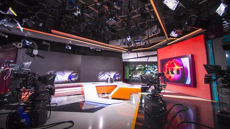 Russia Today newsroom © Evgeny Biyatov