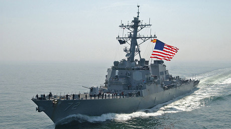 US Navy ship fired warning shots at Iranian vessels in Strait of Hormuz – report