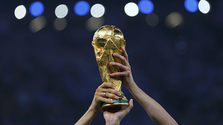 FIFA World Cup Trophy. © Damir Sagolj