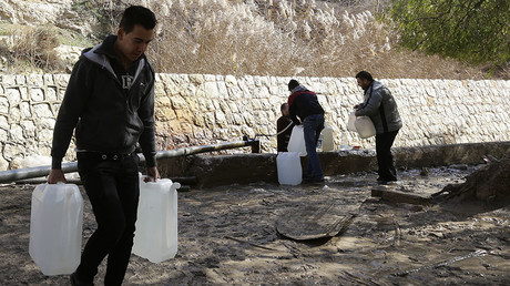 'Weapon of war': Rebels clash with govt at Damascus water source as people face severe shortages
