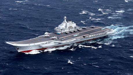 China's Liaoning aircraft carrier © Stringer