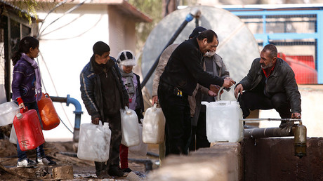Syrian authorities say preliminary agreement reached with rebels on Damascus water supply