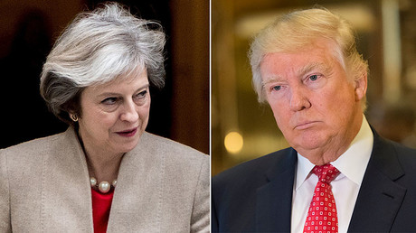 UK Prime Minister Theresa May (L), U.S. President-elect Donald Trump (R) © www.globallookpress.com