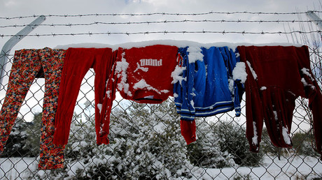 UN calls on European countries to protect refugees from freezing to death & abuse