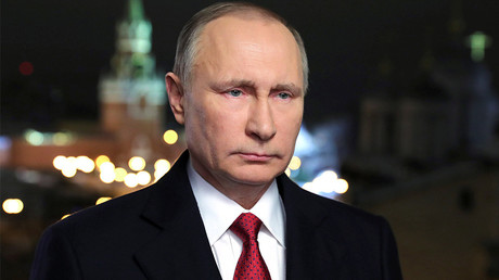 Russia's President Vladimir Putin © Mikhail Klimentyev