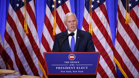 Vice President-elect Mike Pence © Lucas Jackson