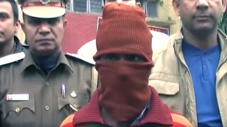 Serial child rapist Sunil Rastogi, 38, is now in police custody in Delhi. © TotalTvNews