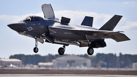 Half of F-35 fleet grounded by tech problems – Pentagon report