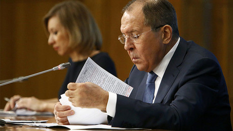 Lavrov: US diplomats frequently took part in Russian opposition rallies