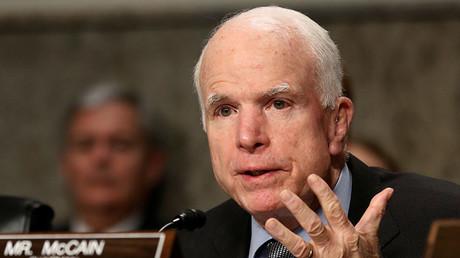 Committee chairman U.S. Senator John McCain (R-AZ). ©Jonathan Ernst