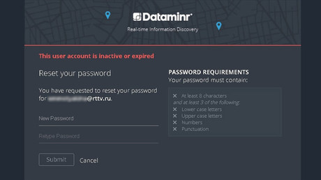 Dataminr terminates RT access to Twitter news discovery tool, gives no official reason