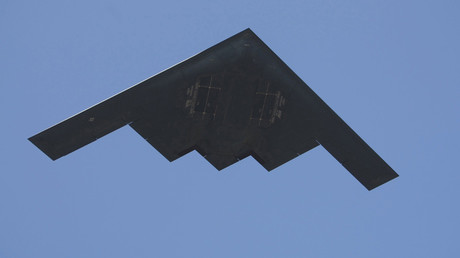 FILE PHOTO: A U.S. Air Force B-2 Spirit bomber © Mike Blake