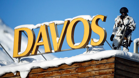 Davos 'gripped by horror' of looming 'political disaster'