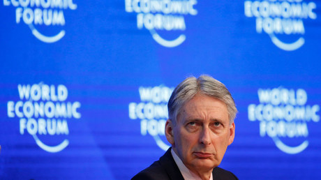 Philip Hammond, Britain's Chancellor of the Exchequer attends the World Economic Forum (WEF) annual meeting in Davos, Switzerland January 20, 2017. © Ruben Sprich