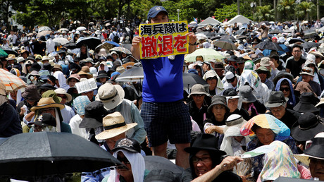 Anti-US base activists push for Okinawa protester's release