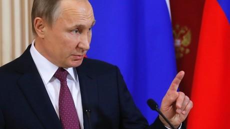 Russian President Vladimir Putin © Sergei Ilnitsky