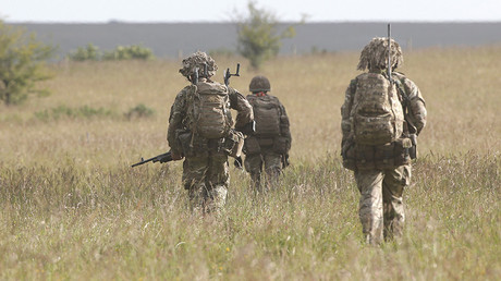 FILE PHOTO British soldiers © Peter Nicholls