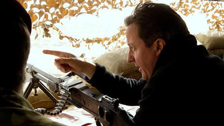 Former Britain's Prime Minister David Cameron © Leon Neal