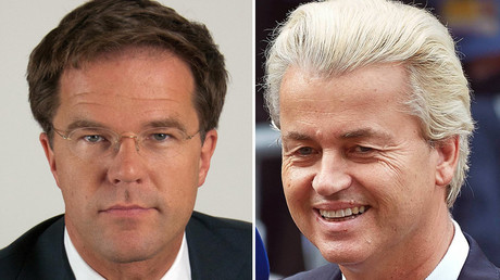 Mark Butte (L) and Geert Wilders © wikipedia.org