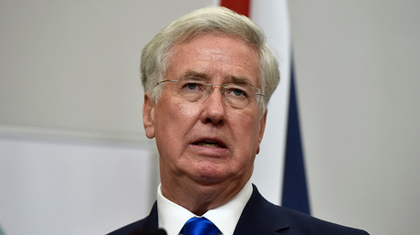 Britain's Defence Secretary Michael Fallon © Reuters