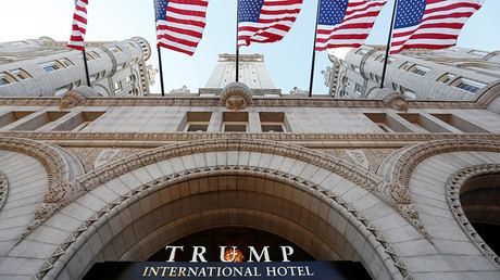 Democrats-linked ethics group sues Trump over 'unconstitutional' DC hotel