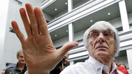 Formula One supremo Bernie Ecclestone. ©Maxim Shemetov