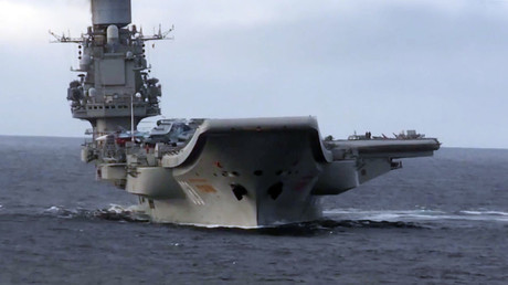 Admiral Kuznetsov heavy aircraft-carrying missile cruiser © Ministry of defence of the Russian Federation