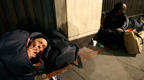 Rough sleeper numbers soar across England for 6th year running