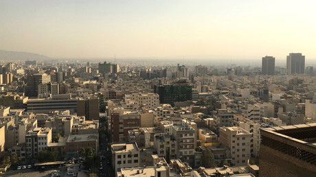 Tehran skyline as seen from Iran's interior ministry in Tehran © Gabriela Baczynska