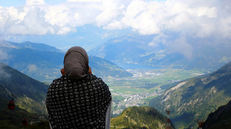 Muslim face veil ban on Austrian ruling coalition action plan