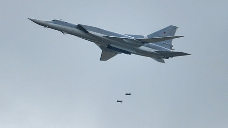 Russian long-range bombers destroy ISIS targets in Syria's Deir ez-Zor