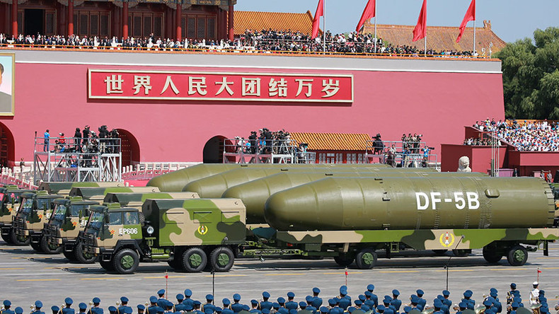 China tests intercontinental missile with 10 warheads – reports