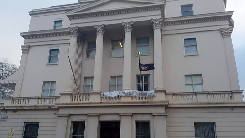 ANAL squatters violently evicted from billionaire's London mansion, already eye new property (VIDEO)