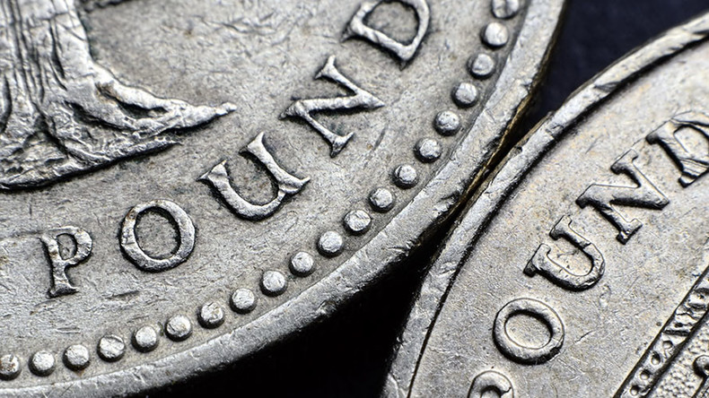Sterling hits seven-week high before Bank of England statement