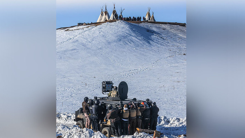 Police raid new camp, evict and arrest 70+ DAPL protesters