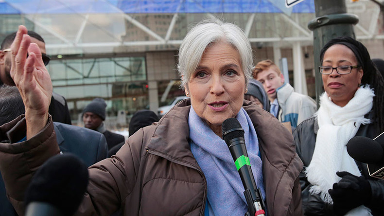 'Absolutely violation of our democracy': Jill Stein encourages DAPL & travel ban protests (VIDEO)