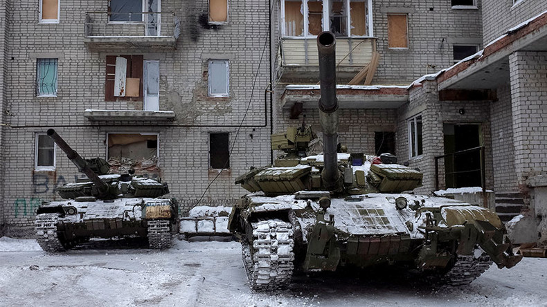 'Not a single tank'? Kiev rep draws own picture of E. Ukraine town despite OSCE, BBC evidence